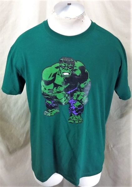 Vintage 80's Marvel Comics The Incredible Hulk (XL) Graphic Comic Icon T-Shirt