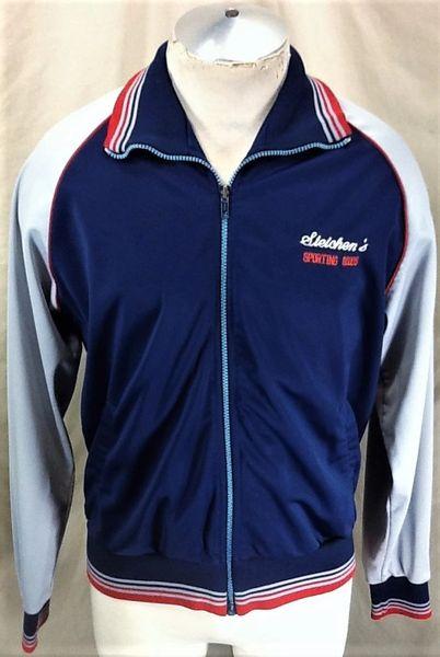 VIntage 1980's Steichen's Sporting Goods (Large) Retro Zip Up Track Jacket