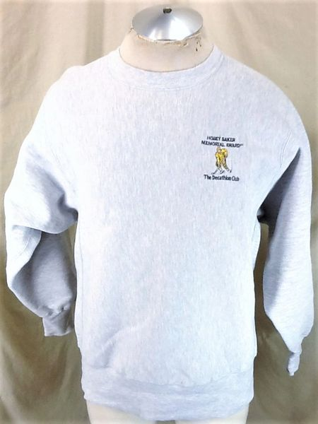 Vintage 90's Champion Hobey Baker Award (Large) Retro The Decathlon Club Reverse Weave Sweatshirt
