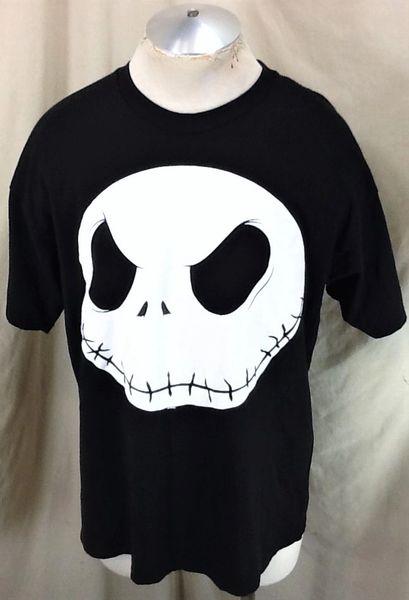 Vintage 90's Disney The Nightmare Before Christmas (L/XL) Retro Graphic Black T-Shirt