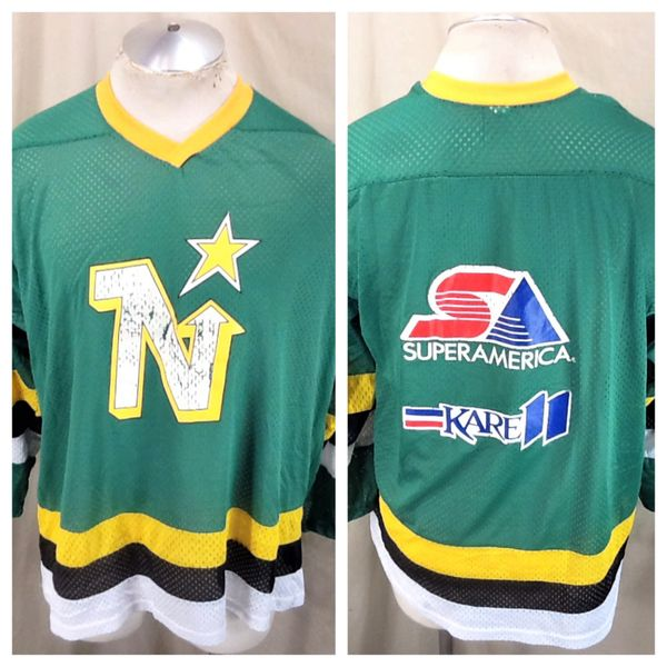 Vintage 80's Minnesota North Stars (Large) Promotional Light Weight NHL Hockey Jersey