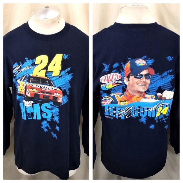 Jeff Gordon #24 Dupont NASCAR Racing (Large) Hendrick Motorsports Long Sleeve Shirt