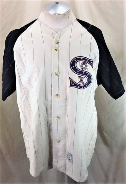 Vintage 90's Mirage Chicago White Sox (Med) Retro Cooperstown Collection MLB Baseball Jersey