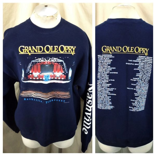 "Vintage 2000 Nashville Tennessee ""Grand Ole Opry"" (XL) Country Music Venue Sweatshirt"