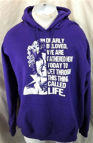 "Retro Prince Music Icon ""This Thing Called Life"" (XL) Music Memorabilia Graphic Hooded Sweatshirt"