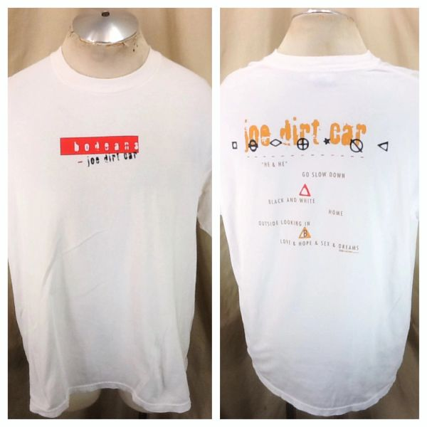 """Vintage 1995 BoDeans """"Joe Dirt Car"""" (XL) Retro Live Album Concert Band T-Shirt"""