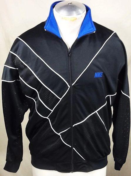 Vintage 90's Nike Full Zip (Medium) Retro Hip-Hop Streetwear Track Jacket