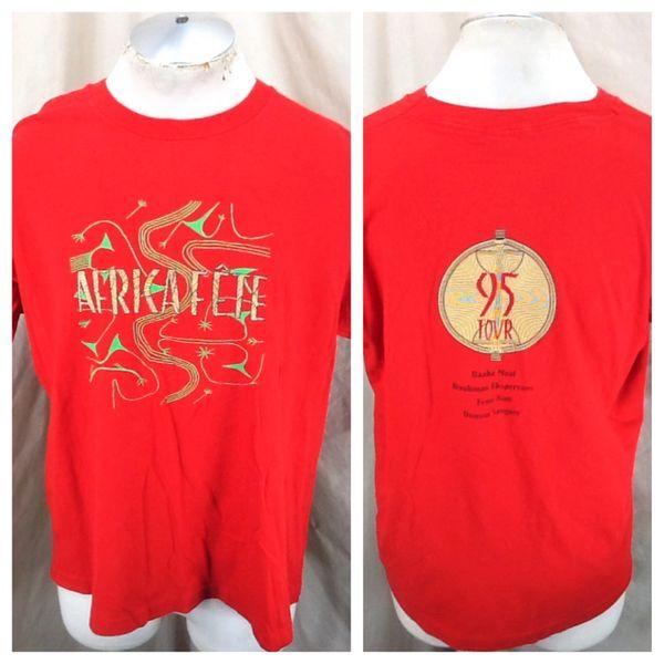 Vintage 1995 Africa Fete Tour African Music Festival (XL) Mango Records Graphic Concert T-Shirt