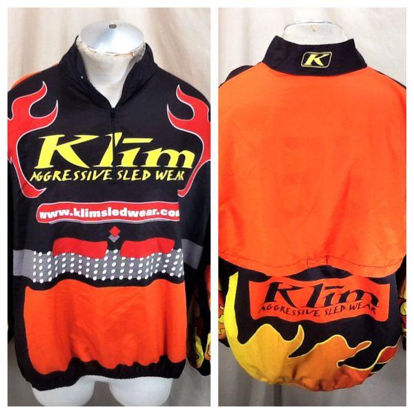 "Klim Air Kontrol ""Aggressive Sled Wear"" (2XL) Pullover Light Weight Windbreaker Jacket"
