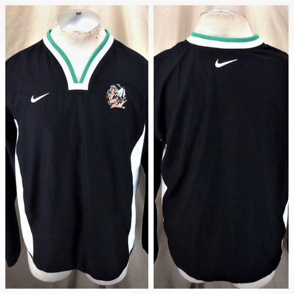 Nike North Dakota Fighting Sioux (Small) Retro NCAA Pullover Light Weight Windbreaker Jacket