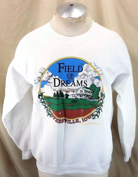 Vintage 1991 Field of Dreams Iconic Movie (XL) Retro Hollywood Blockbuster Graphic Crew Neck Sweatshirt