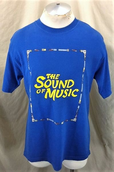 Vintage 90's The Sound of Music Julie Andrews (Large) Retro Americana Movie Graphic T-Shirt