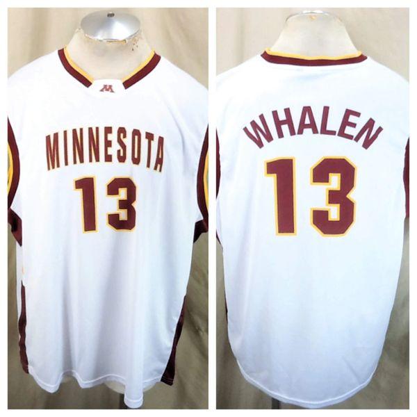 Minnesota Gophers Lindsay Whalen #13 (2XL) Retro NCAA Graphic White Basketball Jersey