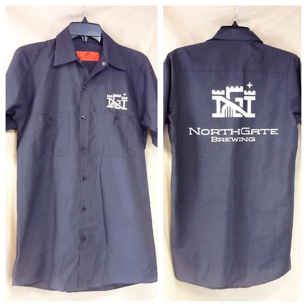 Red Kap Northgate Brewing (Small) Minneapolis Breweries Button Up Beer Shirt