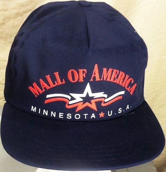 Vintage 90's Mall of America USA's Largest Mall Souvenir Retro Minnesota Snap Back Hat