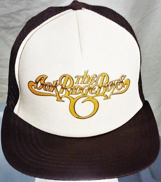 Vintage The Oak Ridge Boys Classic Country Retro Concert Souvenir Snap Back Trucker Hat