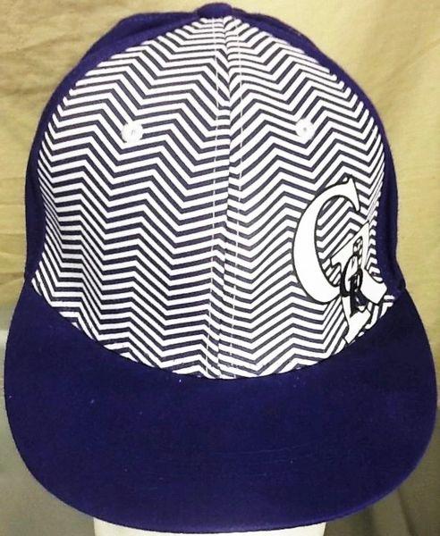 Retro Colorado Rockies Baseball Club Retro MLB Alternative Style Graphic Snap Back Hat