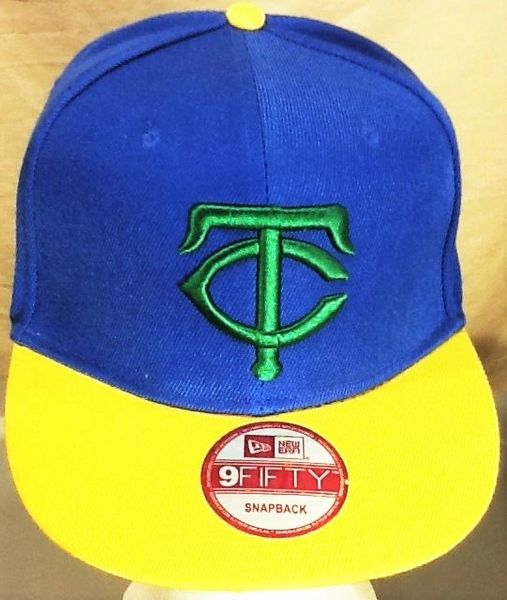 New Era Minnesota Twins Baseball Club Retro MLB Embroidered Alternative Snap Back Hat