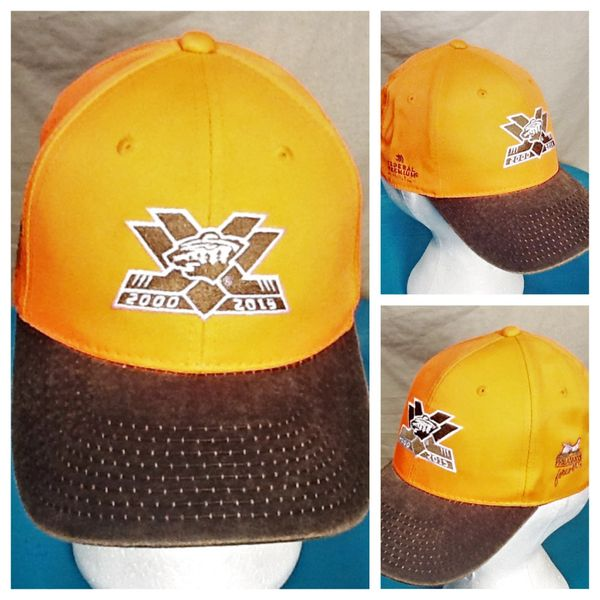 "Minnesota Wild ""15 Years"" Pheasants Forever Blaze Orange Give-A-Way Promotional Hat"