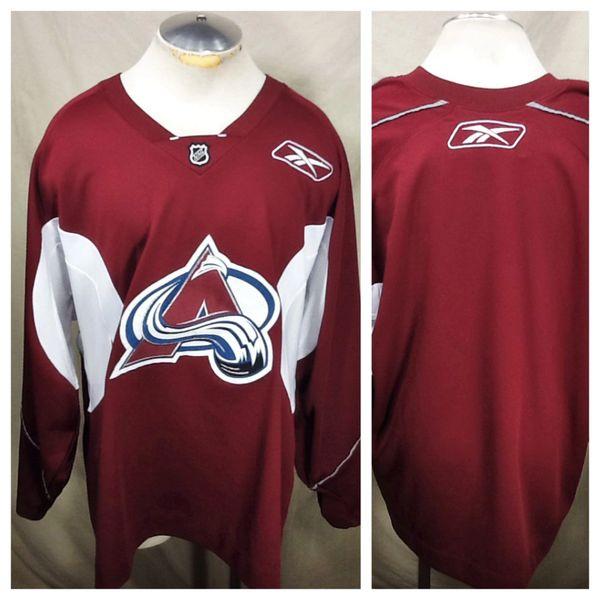 CCM Reebok Colorado Avalanche Hockey Club (XL) Retro NHL Pullover Polyeseter Jersey