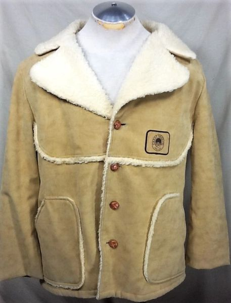 Vintage Swingster Garst Seed Compay (XL) Button Up Wool Liner Long Sleeve Farming Jacket