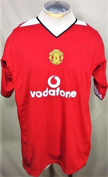 Replica Manchester United Premier League (XL) Retro Light Weight Graphic Futbol Jersey