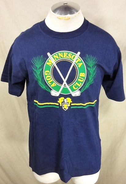 Vintage 90's Minnesota Golf Club (Med/Large) Retro Country Club Tourism Graphic T-Shirt
