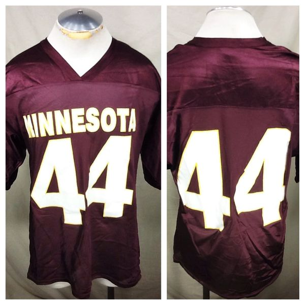 Vintage Off The Bench Minnesota Gophers (XL) NCAA Football Graphic Practice Jersey