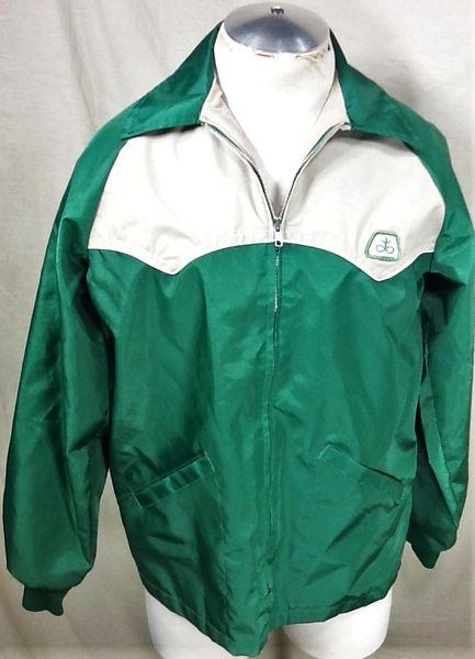 Vintage Swingster Pioneer Seed Company (Medium) Zip Up Advertising Jacket
