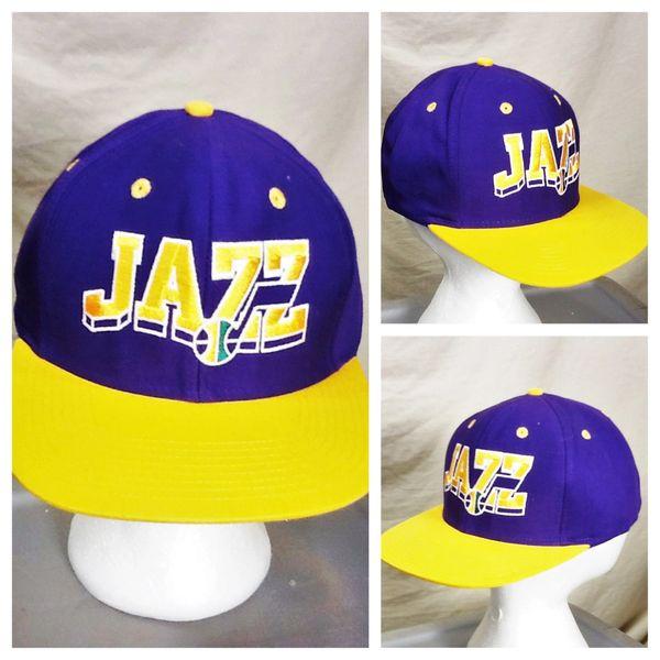 Retro Adidas Utah Jazz Hardwood Classics NBA Basketball Embroidered Snap Back Hat