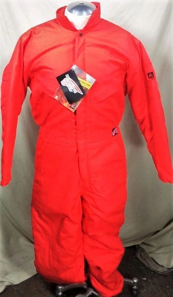 New!! Red Wing Work Wear (Small) Flame Retardant Full Body Red Suit