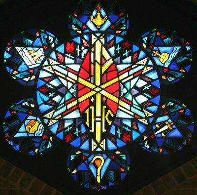 St. Mary's Episcopal Church Stain Glass Window