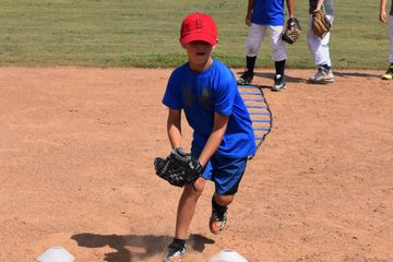 Baseball ladder drills at Cate Sports Academy