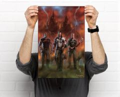 Blood Magik: Pure Art 11 x 17 Collectible Poster