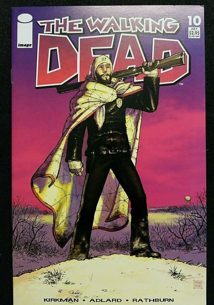 The Walking Dead #10 ~ First ~ Herschel and Maggie ~ First Print VF/NM 9.0