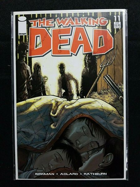 The Walking Dead #11 1st print Image Kirkman VF/NM 9.0