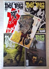 Zombie Tales Lot B 5 Issues!