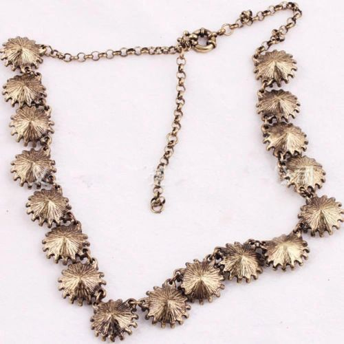 Crystal Venus Flytrap Statement Necklace