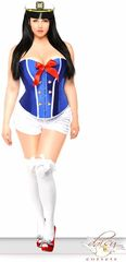 3pc Pin-Up Sailor Costumes