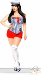 3 PC Pin-Up Sailor Girl Costume #2