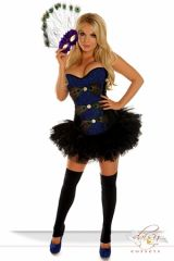 "3 PC Sexy ""Pretty Peacock"" Costume"