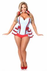 Lavish 3 PC Kansas Girl Corset Costume