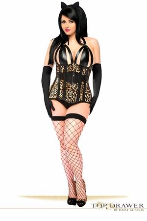 Top Drawer 3 PC Exotic Leopard Costume