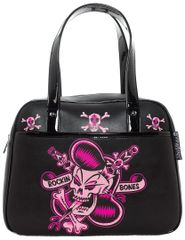 SOURPUSS ROCKIN BONES BOWLER PURSE