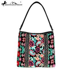 Montana West Embroidered Collection Hobo