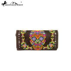 Montana Sugar Skull Collection Wallet
