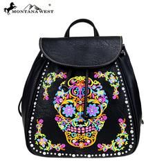 Montana Sugar Skull Collection Backpack