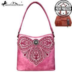 Montana Embroidered Collection Concealed Carry Hobo