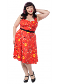 SOURPUSS MIDCENTURY MODERN VERONICA SWING DRESS
