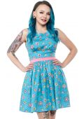 SOURPUSS SPUTNIK SHIFT DRESS
